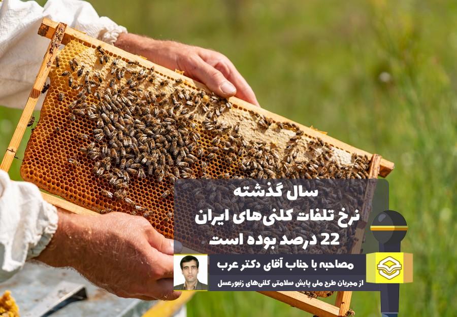 مجری طرح ملی پایش سلامت کلنیهای زنبورعسل کشور بیان کرد