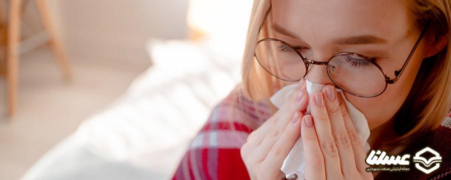 کاهش علائم سرماخوردگی