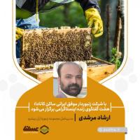 با شرکت زنبوردار موفق ایرانی ساکن کانادا / هشت گفتگوی زنده اینستاگرامی برگزار میشود