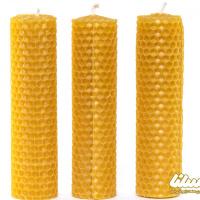 آموزش شمع سازی با موم زنبور عسل + آموزش سریع ویدئویی
