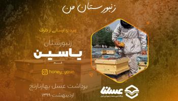 ویدئو: برداشت عسل بهارنارنج از زنبورستان یاسین اردیبهشت 99